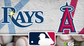 Rays Logo and Angels Logo